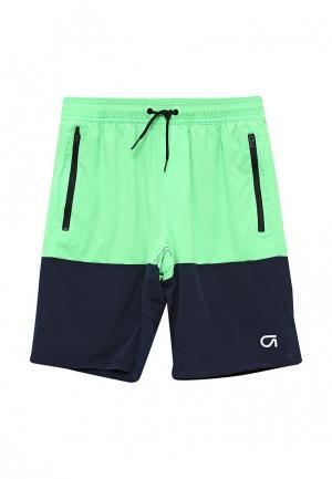 Шорты спортивные Gap. Цвет: зеленый