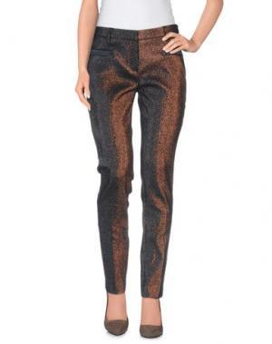 Повседневные брюки TRUE ROYAL. Цвет: какао