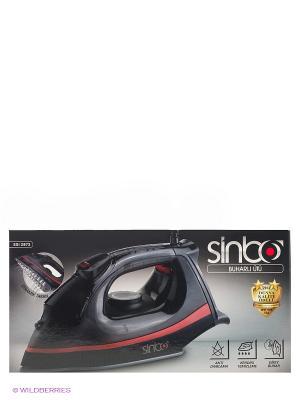 Утюг SSI 2872, 2000 Вт Sinbo. Цвет: черный, красный