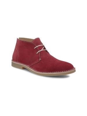 Ботинки ECCO. Цвет: красный