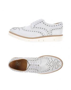Обувь на шнурках SARTORI GOLD. Цвет: белый