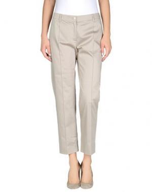 Повседневные брюки N_8. Цвет: светло-серый
