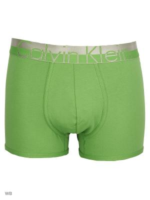 Трусы Calvin Klein. Цвет: зеленый