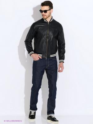 Куртка Eden Park. Цвет: черный, темно-синий, белый