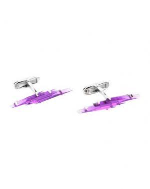 Запонки и зажимы для галстука DSQUARED2. Цвет: фиолетовый