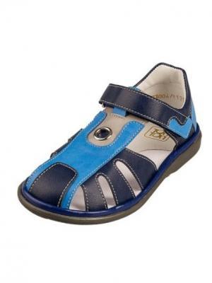 Сандалии ТОП-ТОП. Цвет: синий,голубой