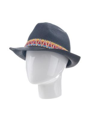 Шляпа Gusachi. Цвет: черный, голубой, желтый