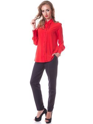Блузки OKS by Oksana Demchenko. Цвет: красный