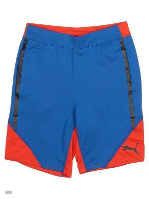 Шорты ACTIVE CELL Poly Shorts Puma. Цвет: синий