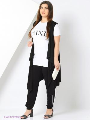 Комплект одежды Amelia Lux. Цвет: белый, черный