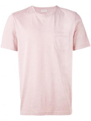 Футболка Envelope Oliver Spencer. Цвет: розовый и фиолетовый