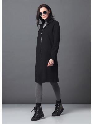 Пальто Burvin. Цвет: черный