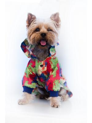 Дождевик Doggy Style. Цвет: красный, зеленый