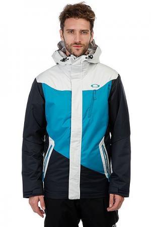 Куртка утепленная  Minaret Jacket Navy Blue Oakley. Цвет: черный,голубой,серый