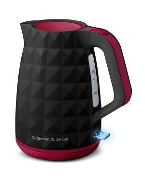 Чайник Zigmund & Shtain. Цвет: черный, красный
