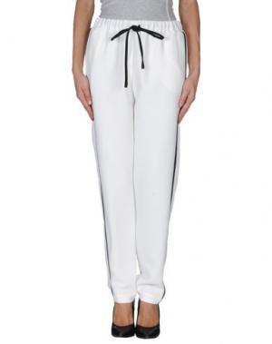 Повседневные брюки AMERICAN RETRO. Цвет: белый