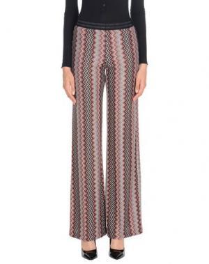 Повседневные брюки MICHELA MII. Цвет: кирпично-красный