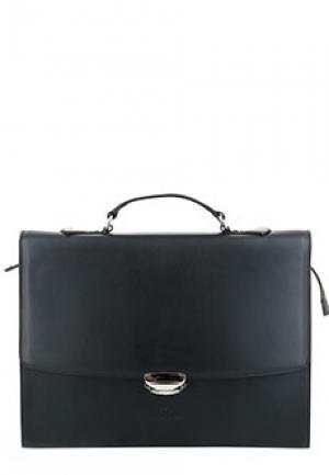 Портфель CASTORI. Цвет: черный
