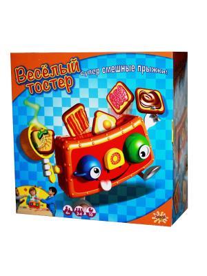 Настольная игра Веселый тостер Splash Toys. Цвет: голубой, светло-оранжевый