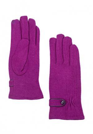 Перчатки Venera. Цвет: фиолетовый