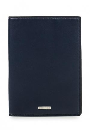 Обложка для документов Cerruti 1881. Цвет: синий