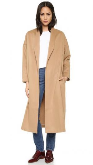 Пальто Robe AYR. Цвет: верблюжий