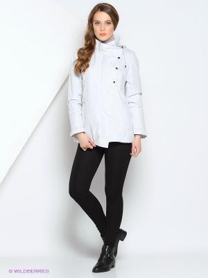 Куртка IISA Maritta. Цвет: белый, светло-серый