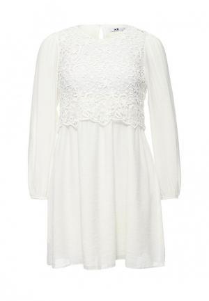 Платье adL. Цвет: бежевый