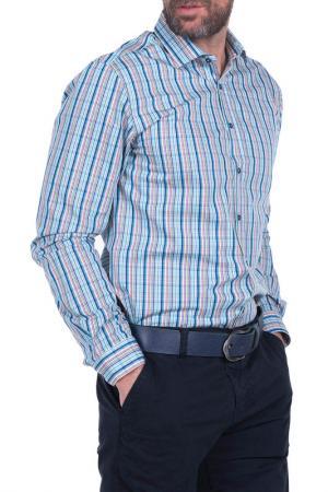 Рубашка IceBoys. Цвет: light blue