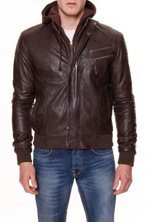 Куртка Chyston. Цвет: коричневый