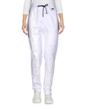 Повседневные брюки NICOPANDA. Цвет: белый