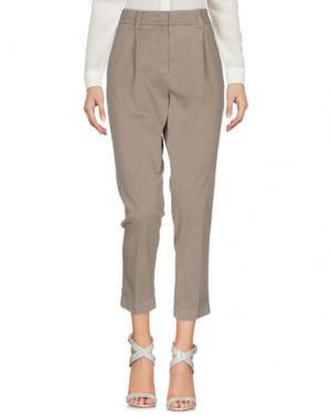Повседневные брюки ARGONNE. Цвет: голубиный серый