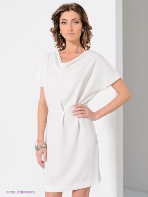 Платье Top Secret. Цвет: кремовый