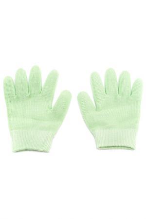 Увлажняющие гелевые перчатки Medolla. Цвет: светло-зеленый