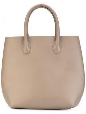 Большая сумка-тоут Eleventy. Цвет: телесный