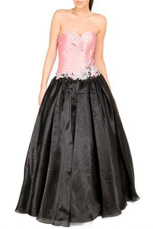 Платье YASMIN. Цвет: черный