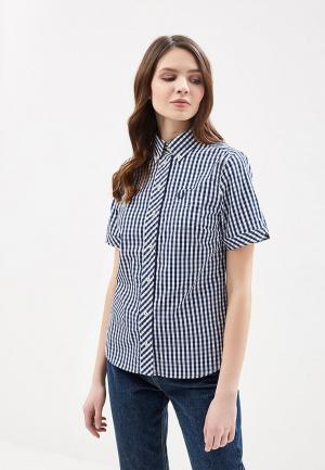 Рубашка Fred Perry. Цвет: синий