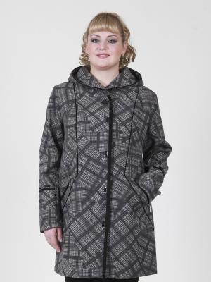 Пальто Мила VIKO. Цвет: серый
