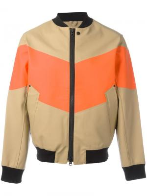 Куртка-бомбер Vastertorp Stutterheim. Цвет: телесный