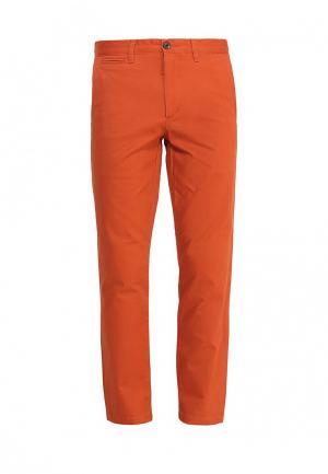 Брюки Dockers. Цвет: оранжевый