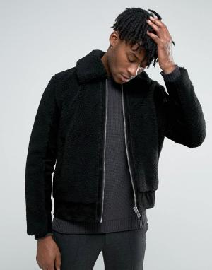 Weekday Куртка Meteor. Цвет: черный