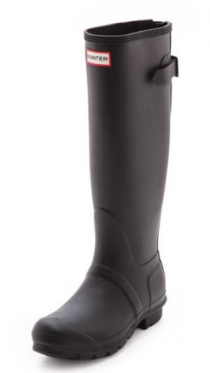 Ботинки с регулируемой шириной голенища Original Hunter Boots. Цвет: голубой