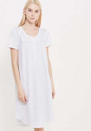 Сорочка ночная NYMOS. Цвет: белый