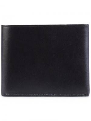 Классический бумажник Tarnsjo Garveri. Цвет: синий