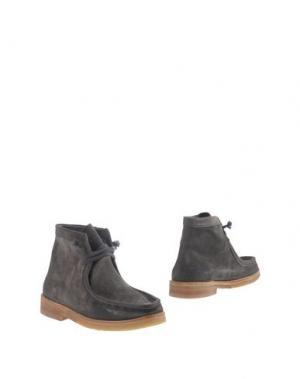 Полусапоги и высокие ботинки N.D.C. MADE BY HAND. Цвет: свинцово-серый