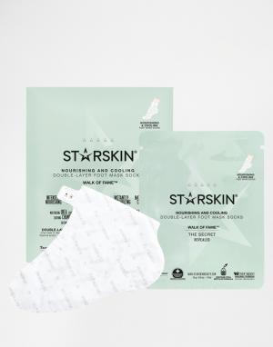 Starskin Питательные и охлаждающие маски для ног Walk Of Fame. Цвет: бесцветный
