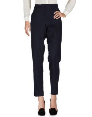 Повседневные брюки XANDRES. Цвет: темно-синий