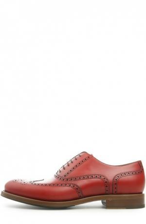 Туфли O`Keeffe. Цвет: красный