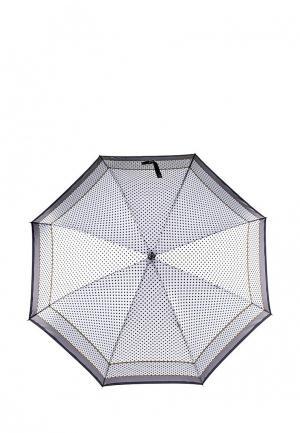 Зонт-трость Fabretti. Цвет: белый