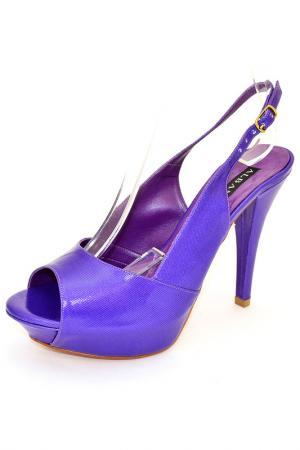 Открытые туфли Albano. Цвет: фиолетовый